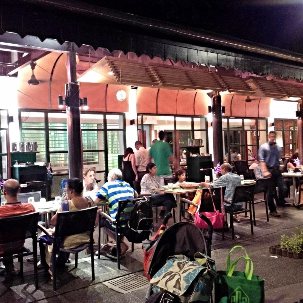 Thearcticstar 39 s tales dinner at casa verde botanical for Au jardin restaurant singapore