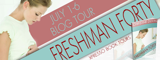 Blog Tour : Freshman Forty by Christine Duval