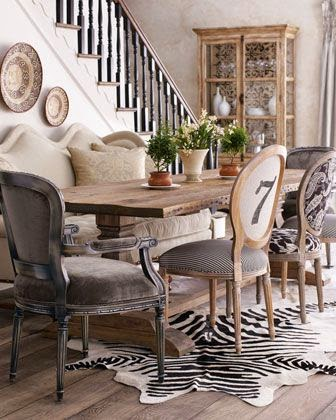 Ordinaire If You Prefer An Eclectic Look, Mismatched Chairs Is Definitely A Must For  Your Dining Room. Be Colorful If You Like, Itu0027s A Great Way To Let Your ...