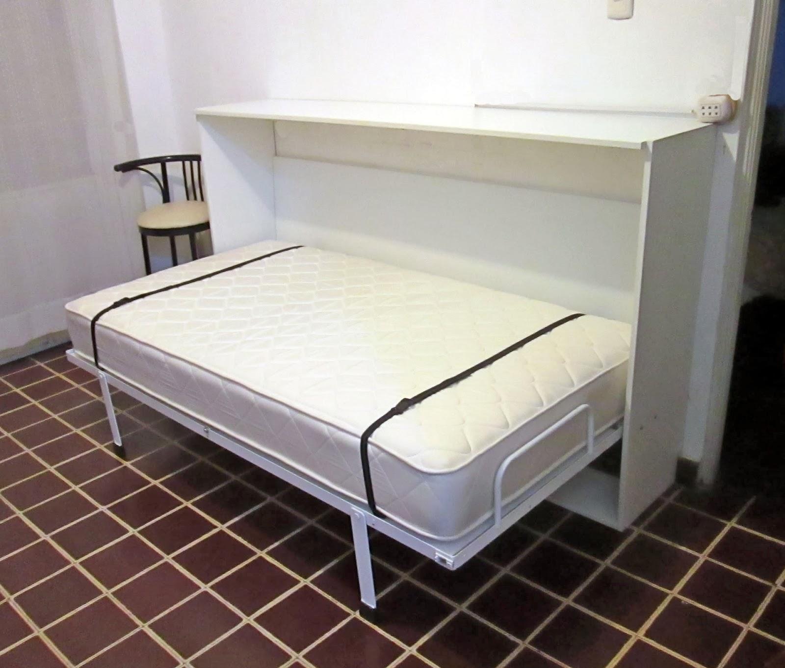 Camas Abatibles BUNKER BED: Cama Bunker Bed de 1,5 pl y 2 pl