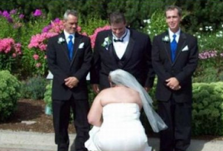 funny picture of  wedding: the wedding preparation!
