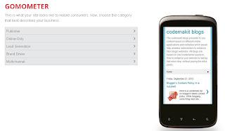 Gomometer screenshot
