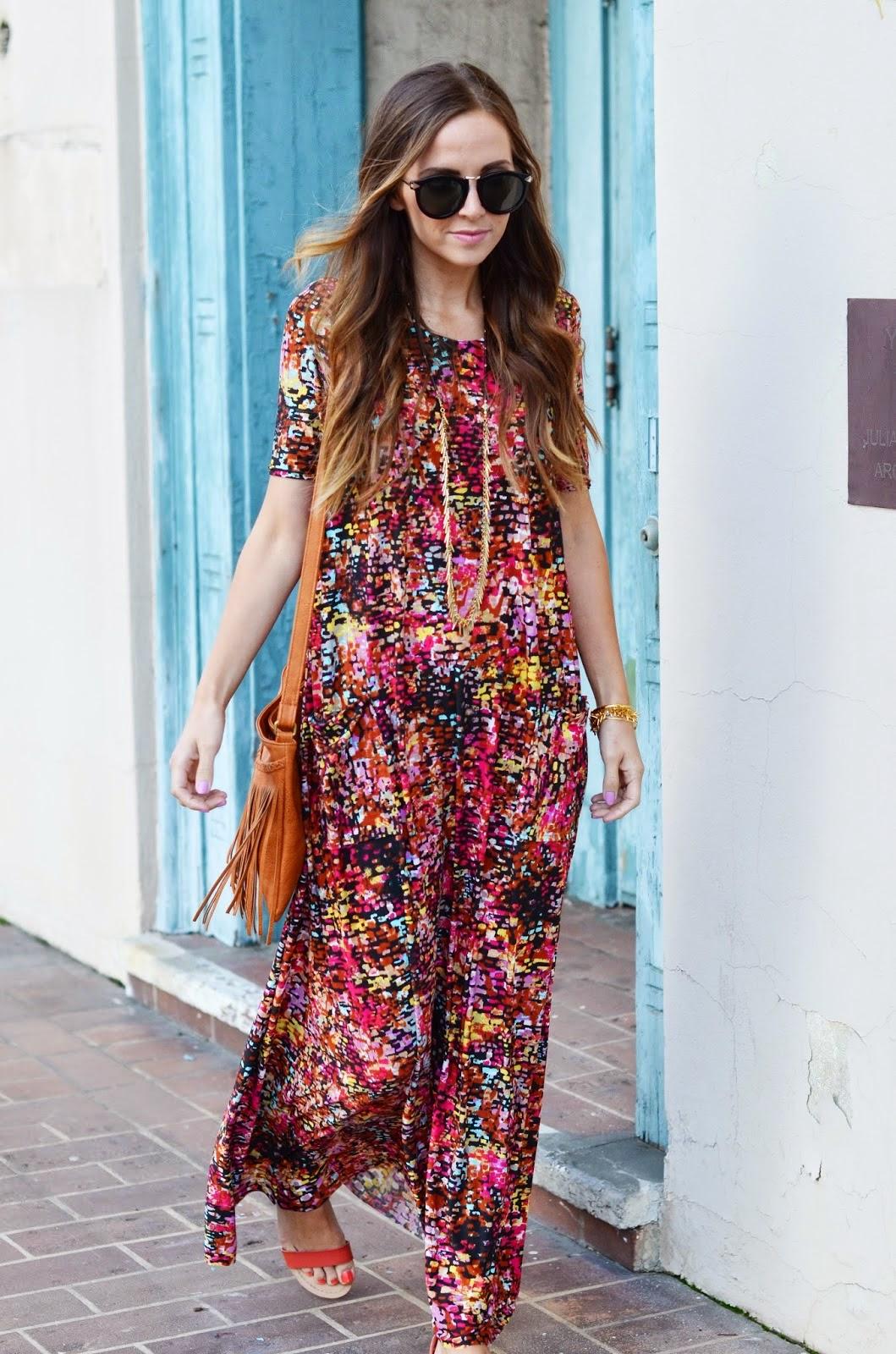 roupas femininas vestido longo com bolsa de franjas
