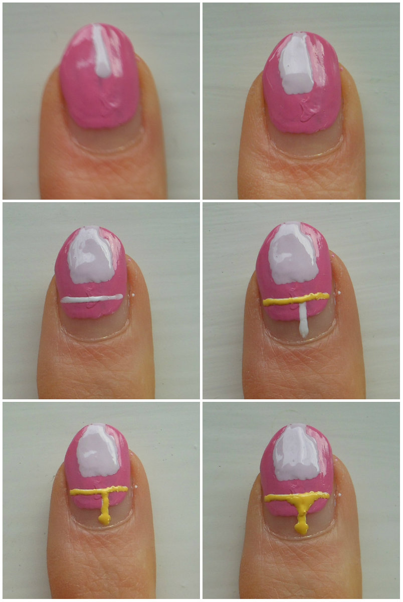 Holy Grail Nails: How-To: Easy(ish) Adventure Time Nail Art