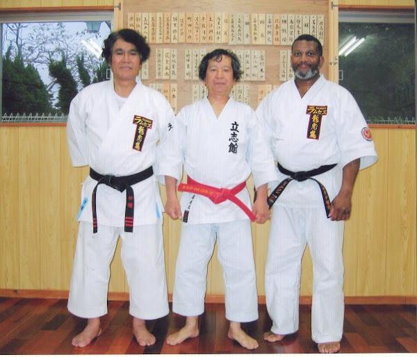 Seiki Irei, Kiyuna Sensei, Jackson Sensei
