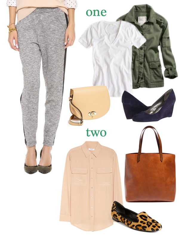 how to style slouchy pants