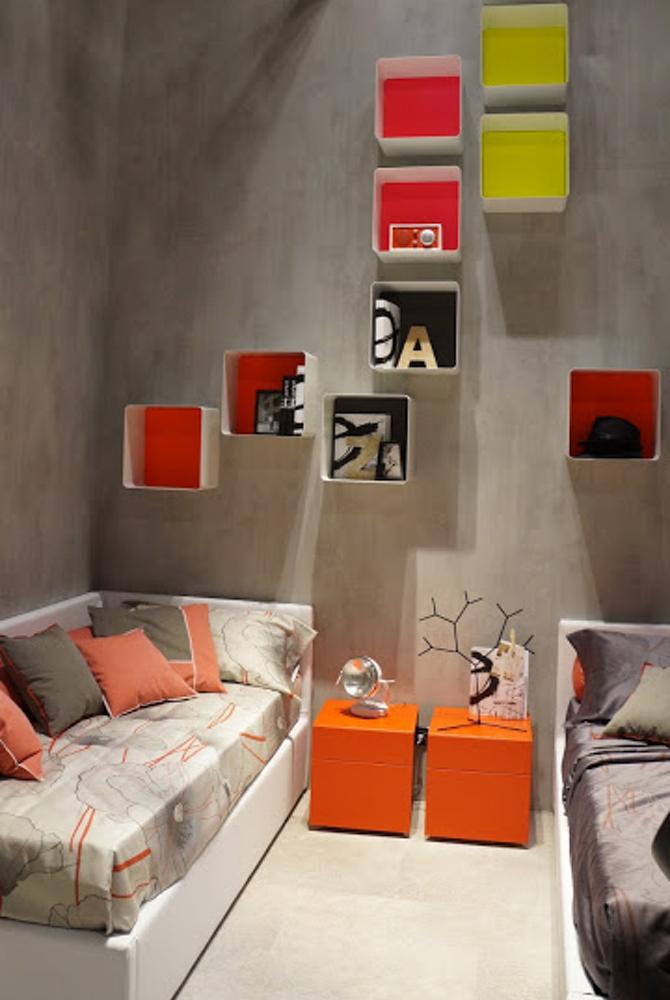 decoraçao coloridapapel de parede