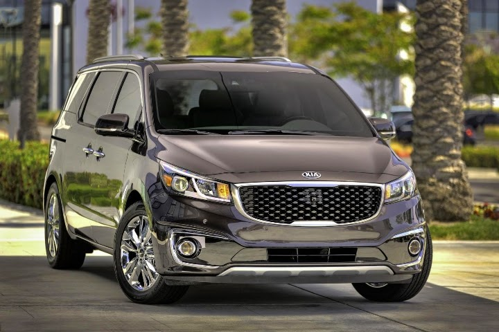 2015 New Kia Sedona Unveiled - First Photo Gallery and Details