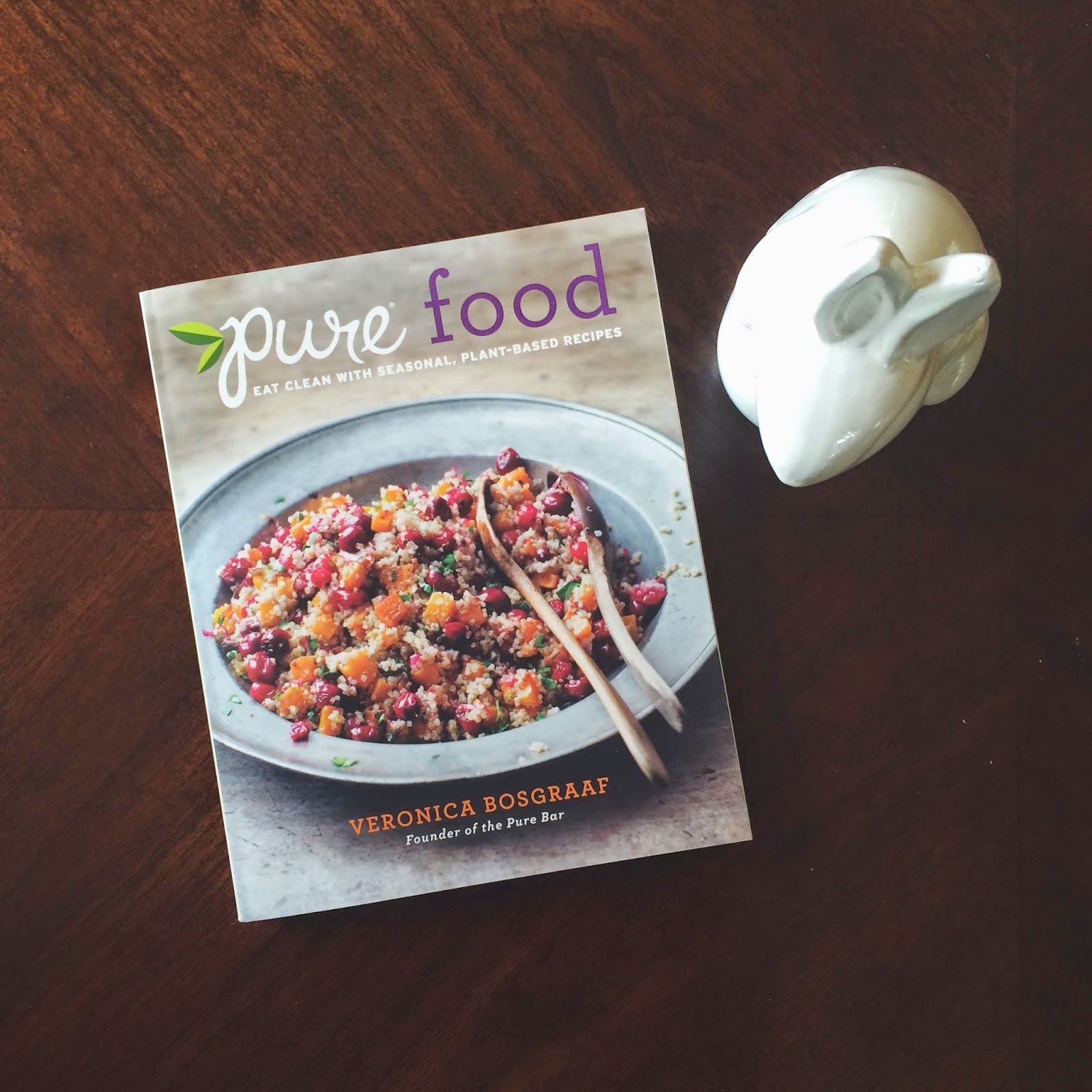 Pure Food, Recipes, Vegetarian, Michigan Author