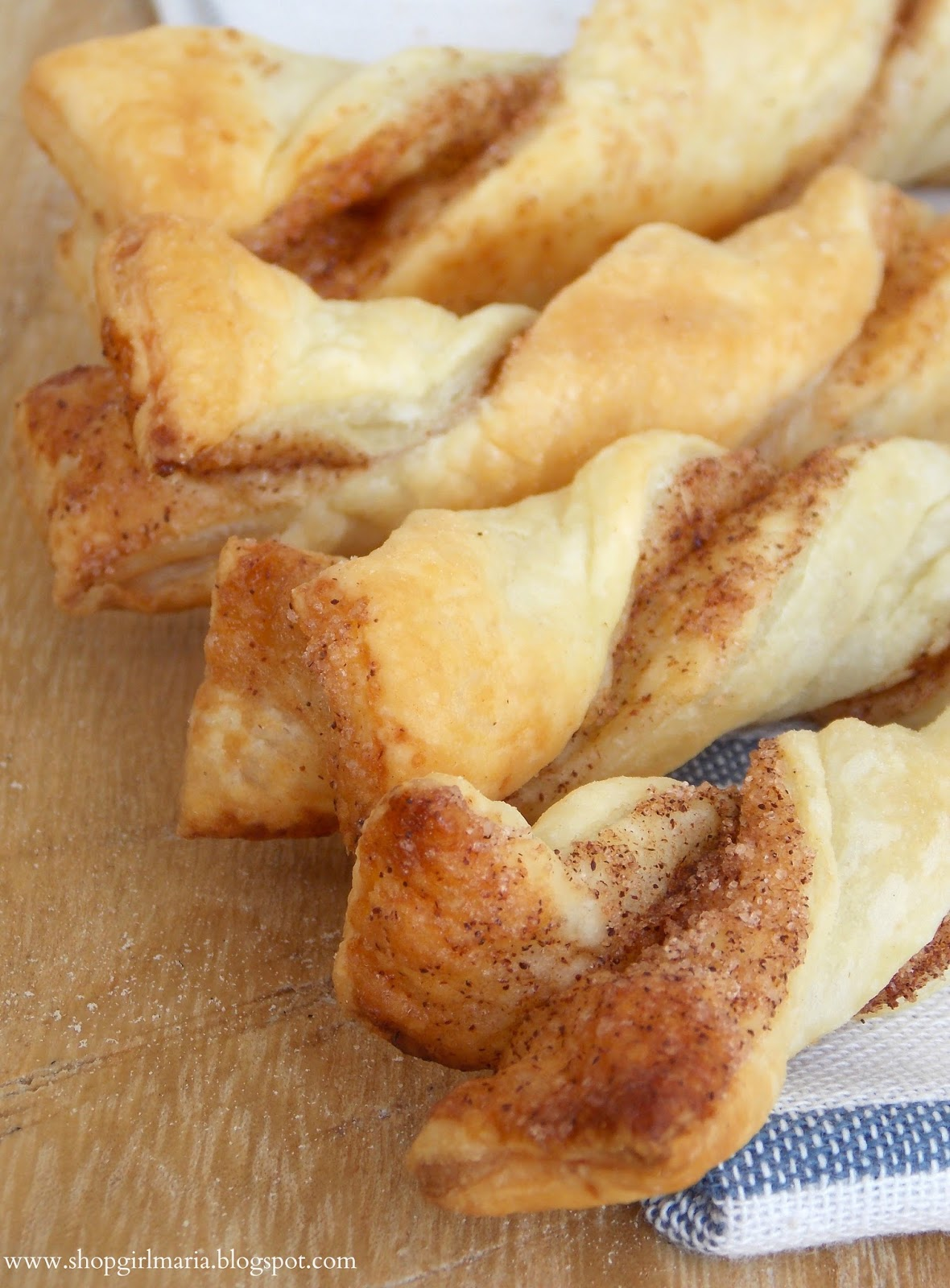Easy Puff Pastry Cinnamon Twists A Homemade Living