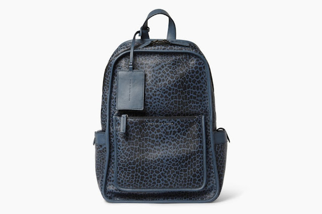 Backpack Marc by Marc Jacobs com estampa de leopardo de couro