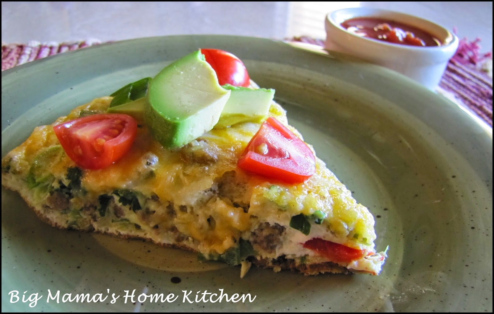 Big Mama's Home Kitchen: Mexican Style Frittata