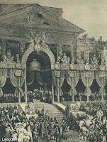 Eedaflegging van Koning Leopold I op 17 juli 1831.