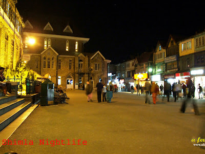 Shimla Night life