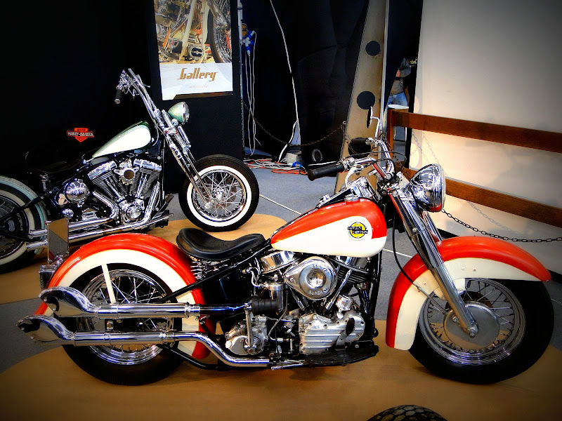 Choppertrip     Rombo di Tuono 2011   Harley Davidson Panhead bobber