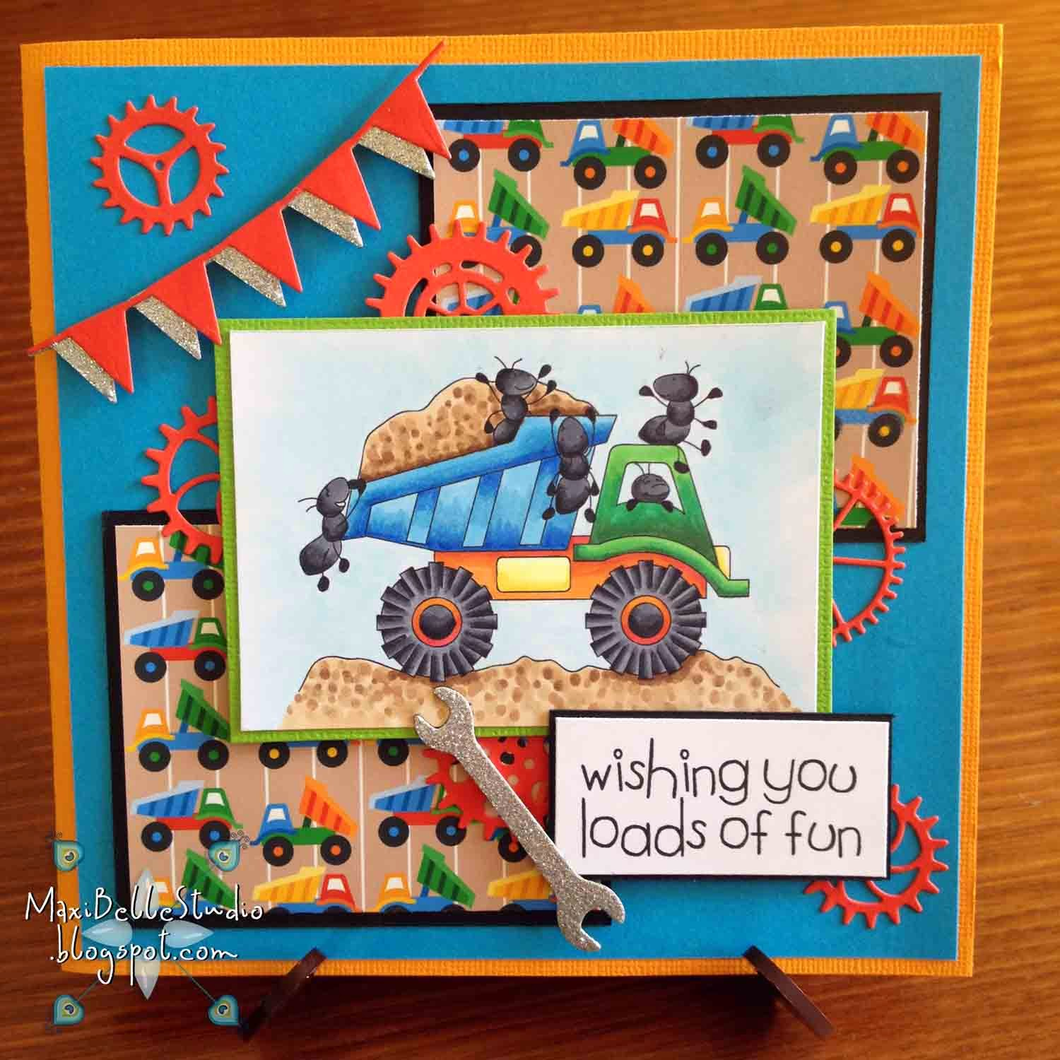 Doodle Pantry Toy Truck Ants