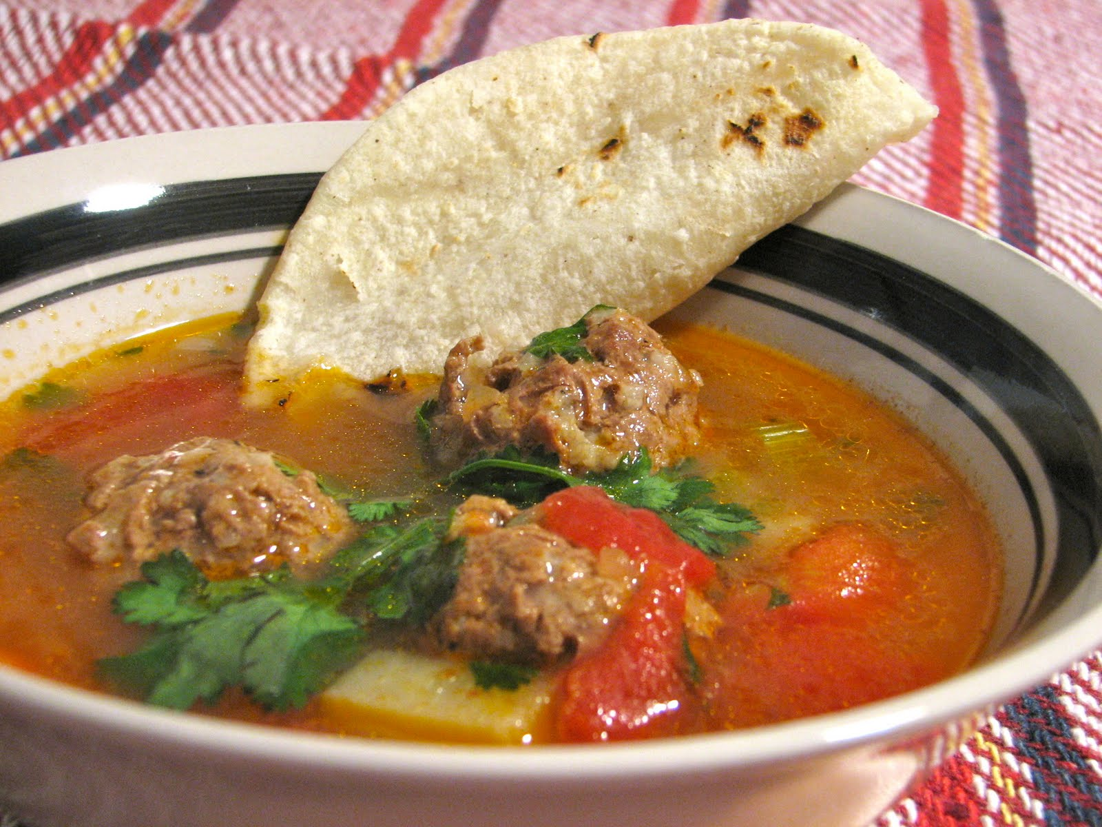 Food for Hunters: Venison Albondigas Soup (Mexican Meatball Soup)