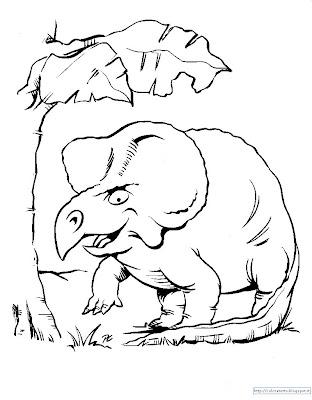 dinosauri disegni colorare