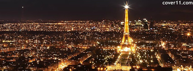 Eiffel Tower Paris Facebook Cover Photo