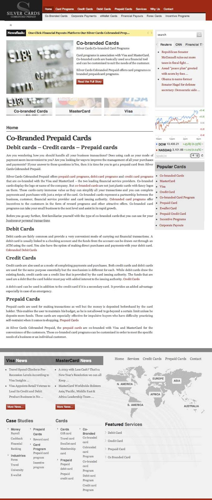 cobrandedprepaid prepaid cards and card programs