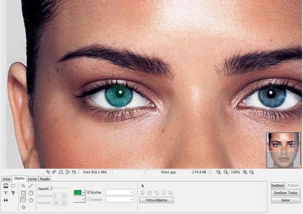 Ajustando o tamanho da imagem no Photoscape