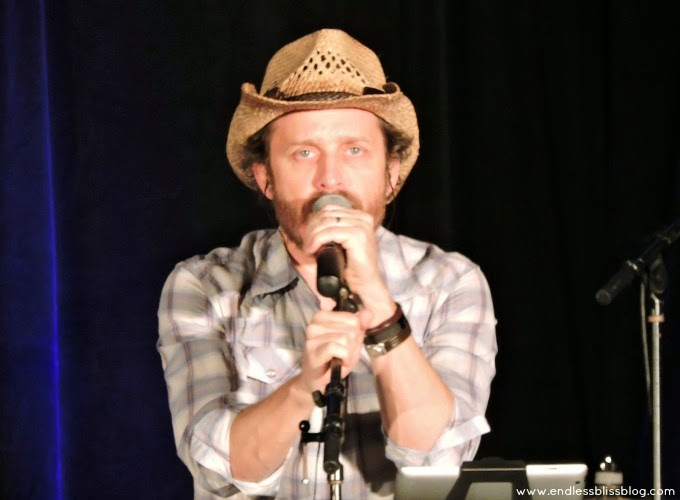 rob benedict at supernatural con in houston 2015