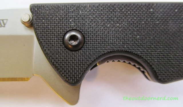 Kershaw Skyline Pocket Knife - Closeup Of Handle 3