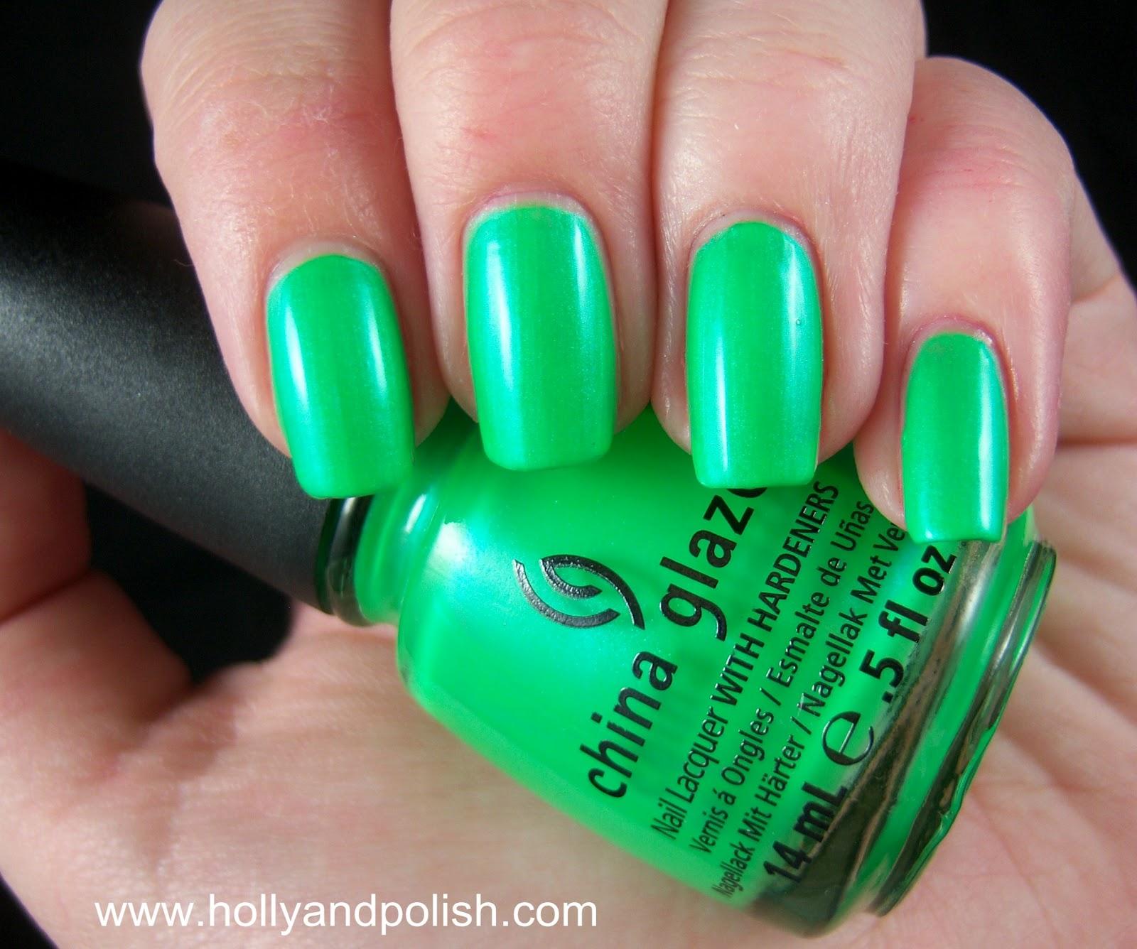 Holly and Polish: A Nail Polish and Beauty Blog: China Glaze In The ...