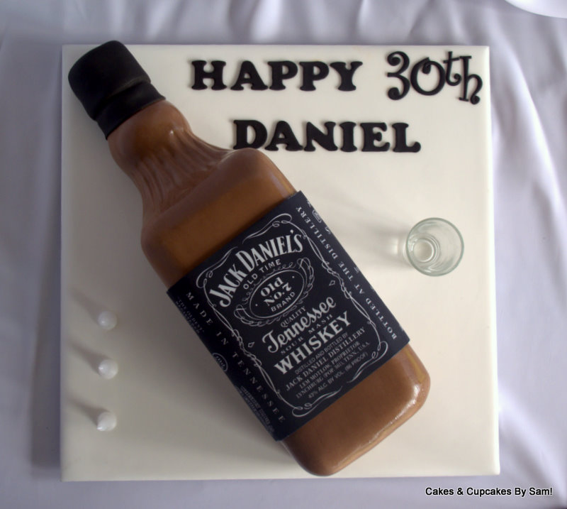 Cakes & Cupcakes By Sam!: Jack Daniels!