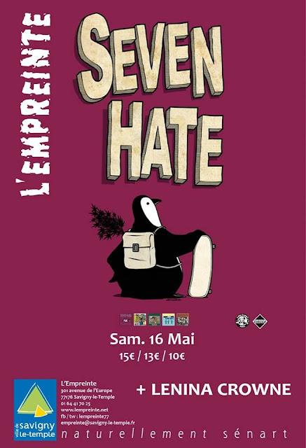 Seven Hate @L'Empreinte, Savigny-le-Temple 16/05/2015