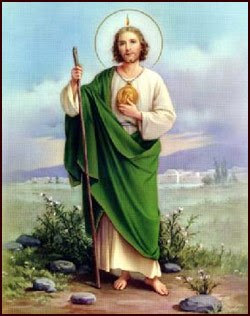 St jude thaddeus patron saint of lost causes and desperate cases