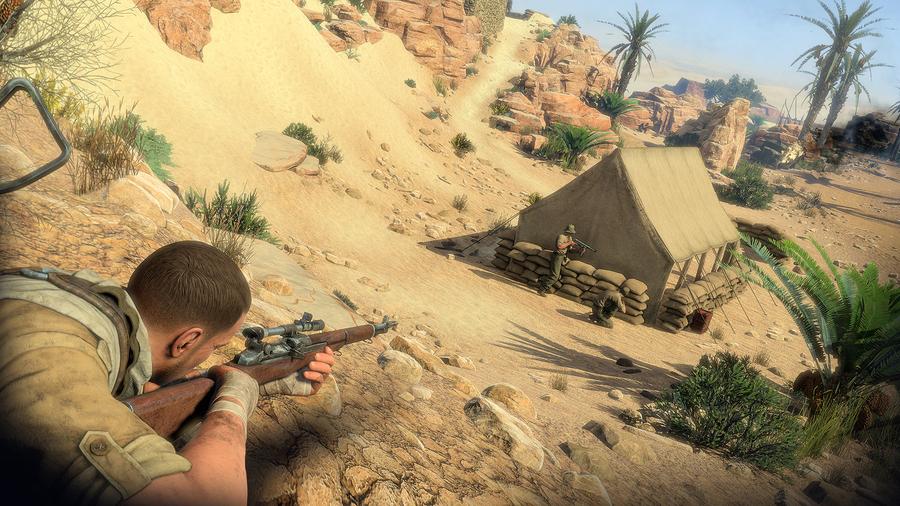 Sniper Elite 3 screenshot