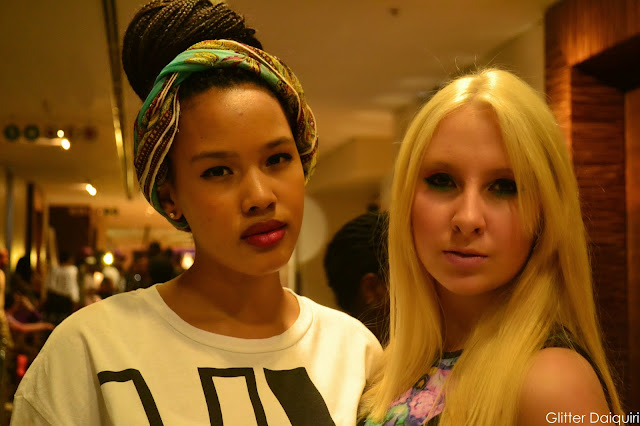 glitter daiquiri, safw 2014, safw street style, south african fashion week, micro braids, sa girls killing it, blonde