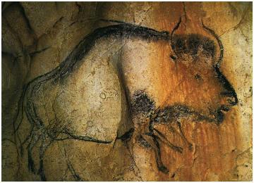 Bison 32,000 BC Chauvet Cave