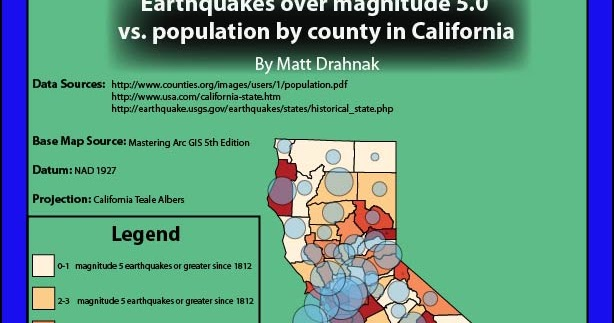 Matt Drahnak Environmental Hazards California Earthquake