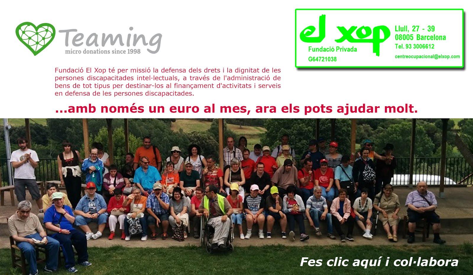 Teaming Fundació El Xop