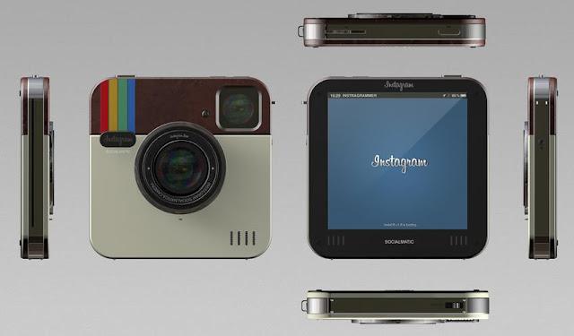 Câmara fotográfica Instagram