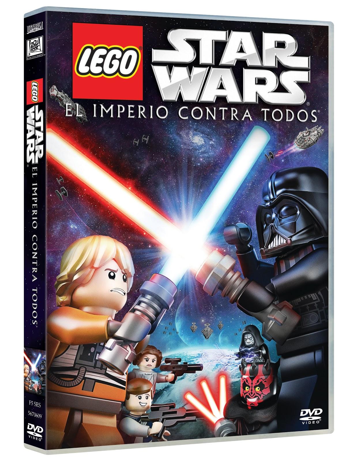 Lego Star Wars: El Imperio Contra Todos (DVD)