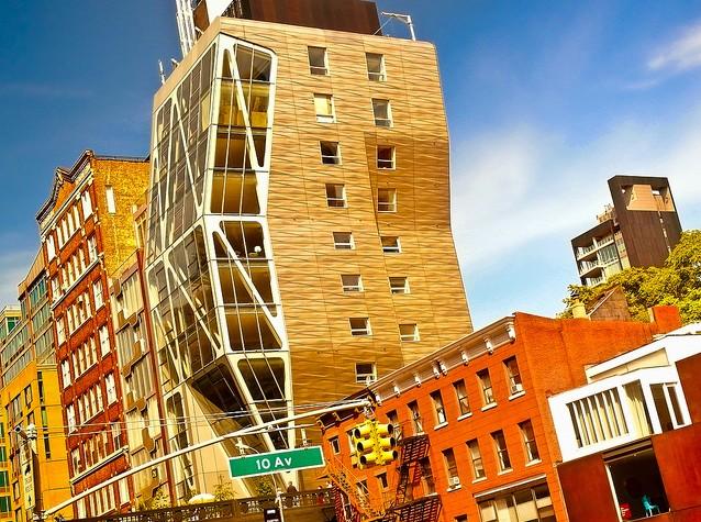Piano Building Th Av New York City