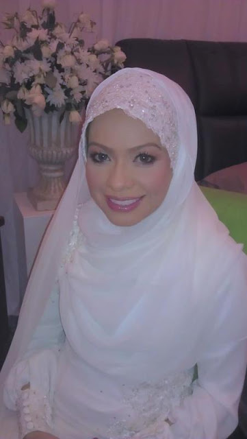 gambar kahwin Sharifah Khasif