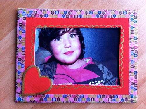 marco de fotos san Valentín