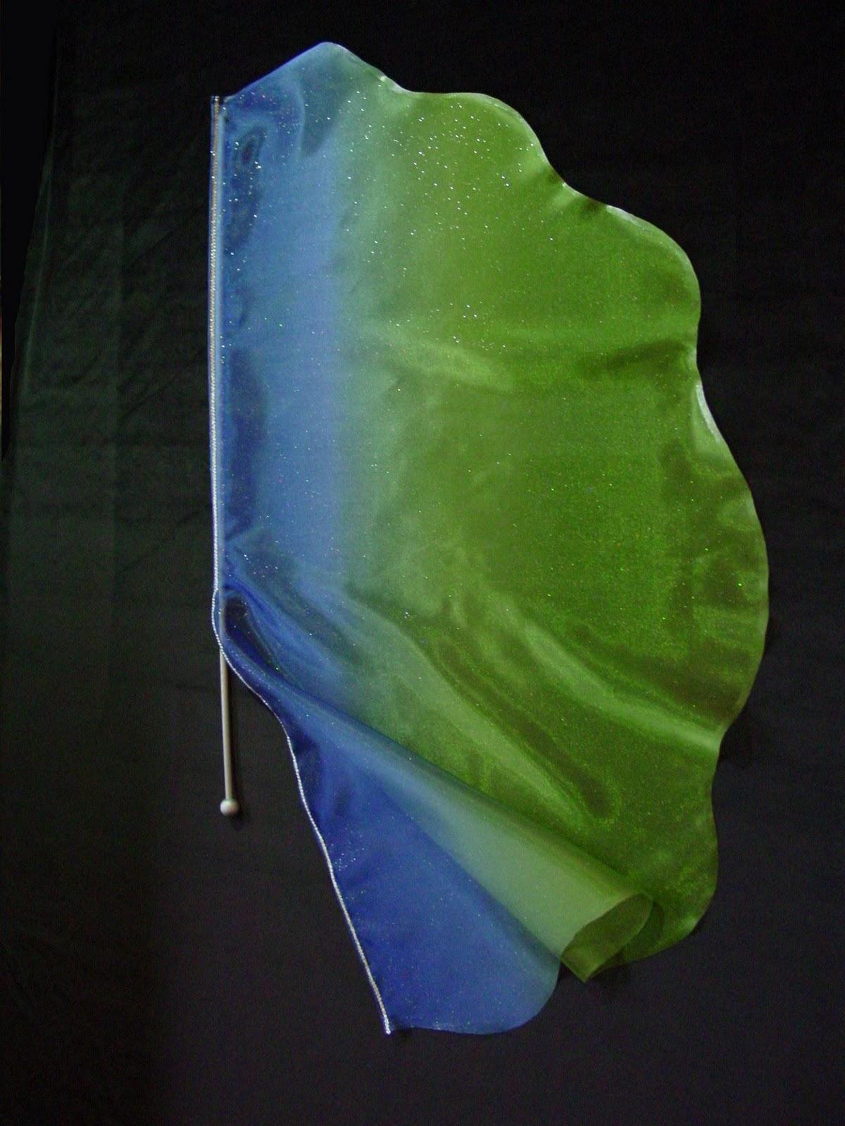 fabricar bandera semicircular
