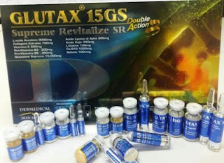 Glutax 15GS Supreme Revitalize SR Doubel Action For Whitening and Anti Aging