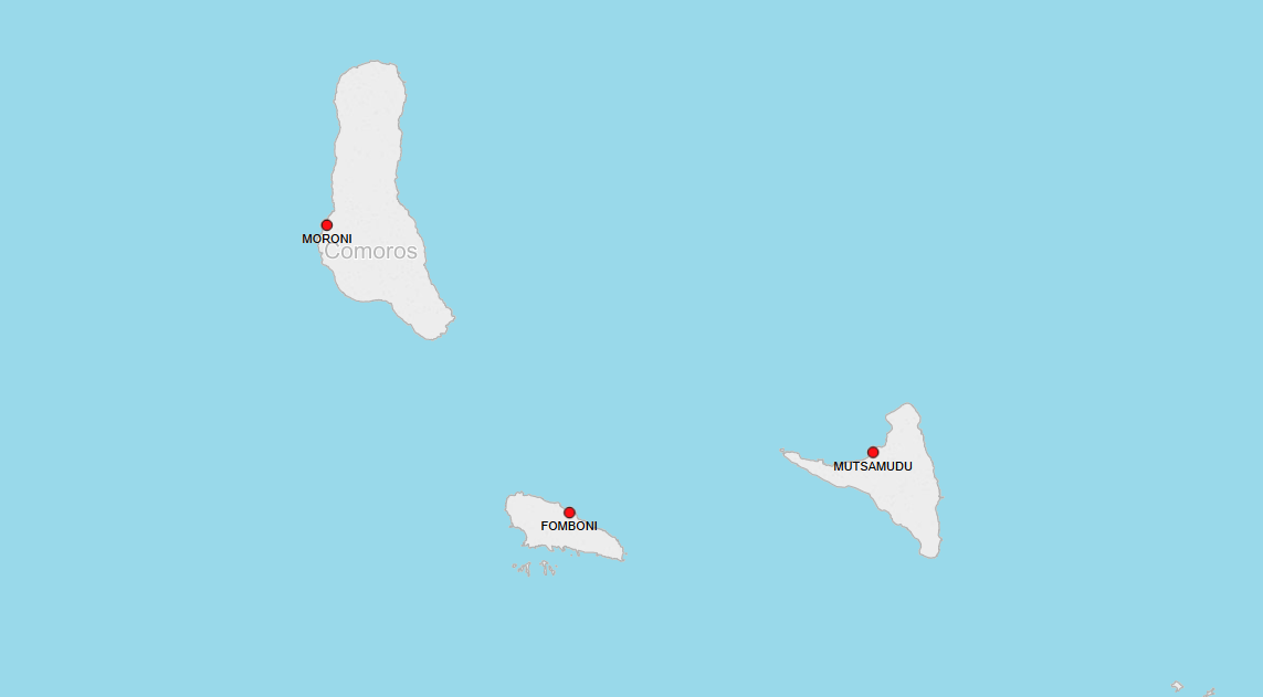 PORTS IN COMOROS