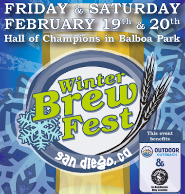 Save on passes & Enter to win VIP tickets to the San Diego Winter Brew Fest