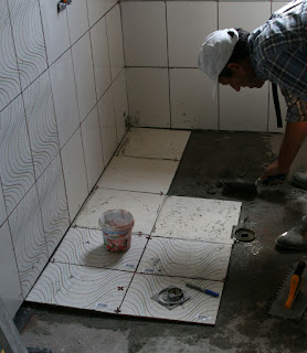 Floor tiling, finally