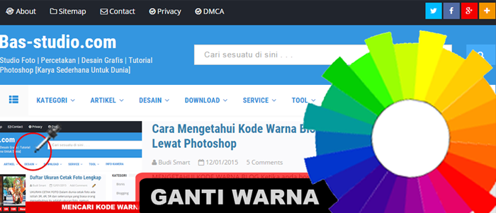 Mengganti Warna Blog