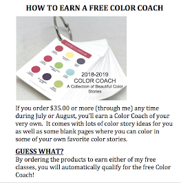 EARN A FREE COLOR COACH FROM ME!