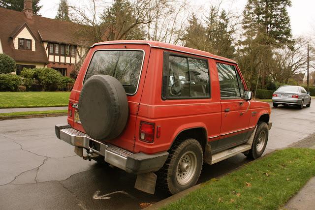1986 Mitsubishi Montero Diesel 2-Door.