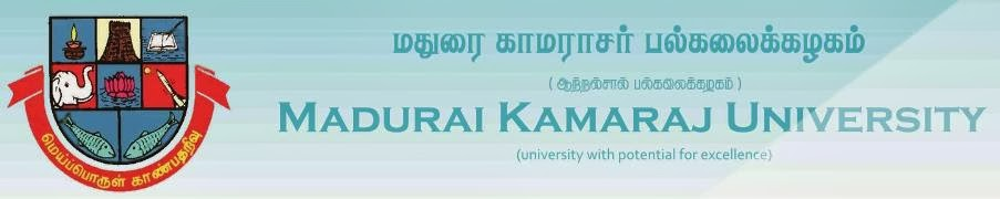 Madurai Kamaraj University (MKU) Degree 1st, 2nd,3rd Year Results 2014